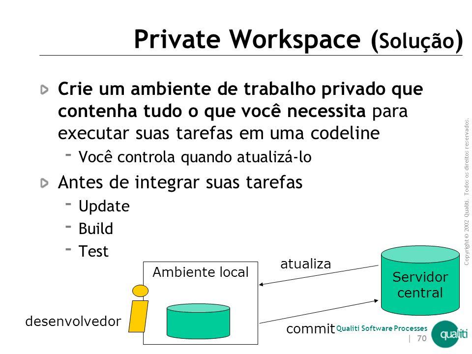 Private Workspace (Solução)