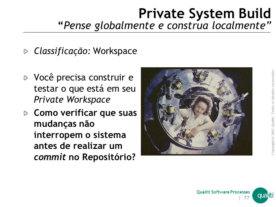 Private System Build Pense globalmente e construa localmente