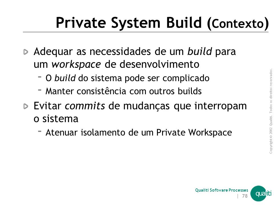Private System Build (Contexto)