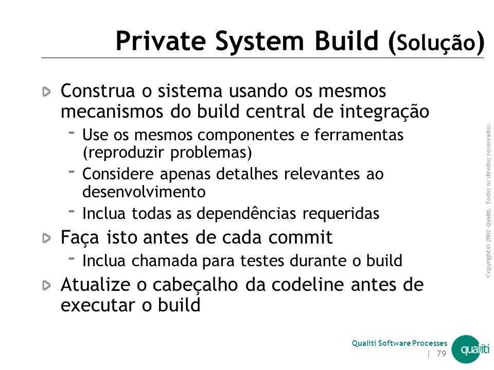 Private System Build (Solução)
