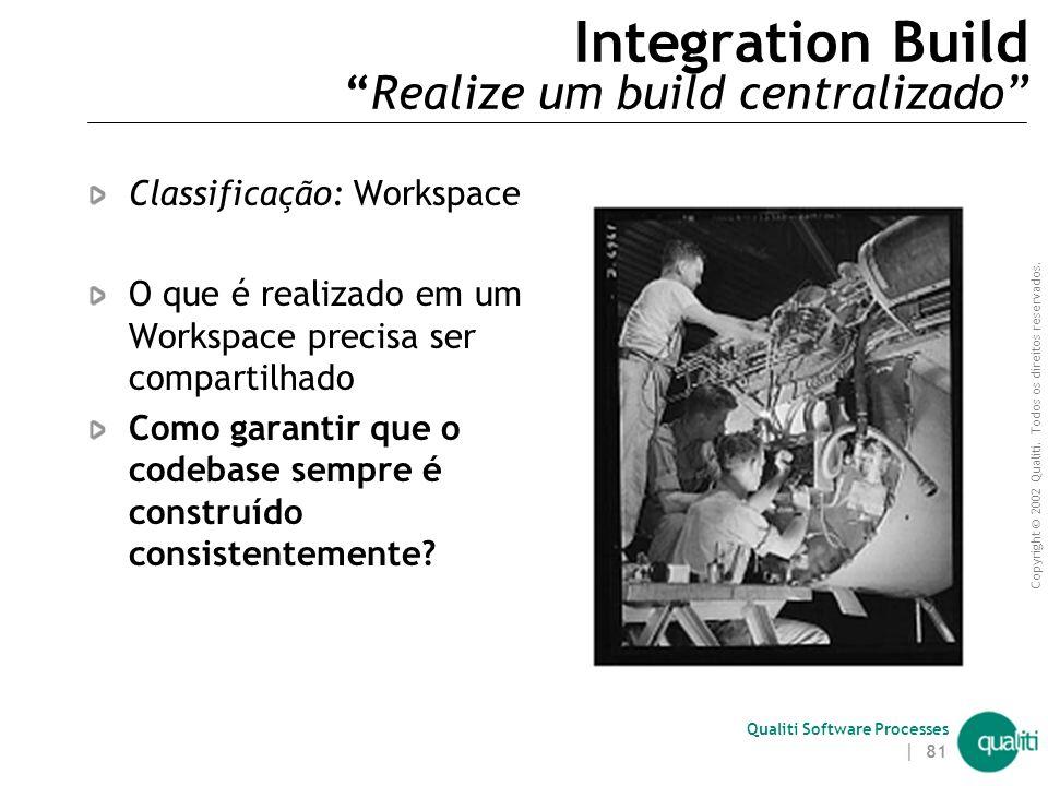 Integration Build Realize um build centralizado