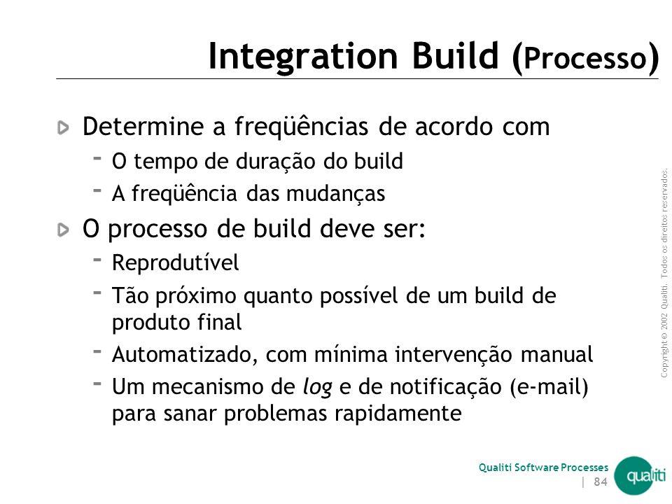 Integration Build (Processo)