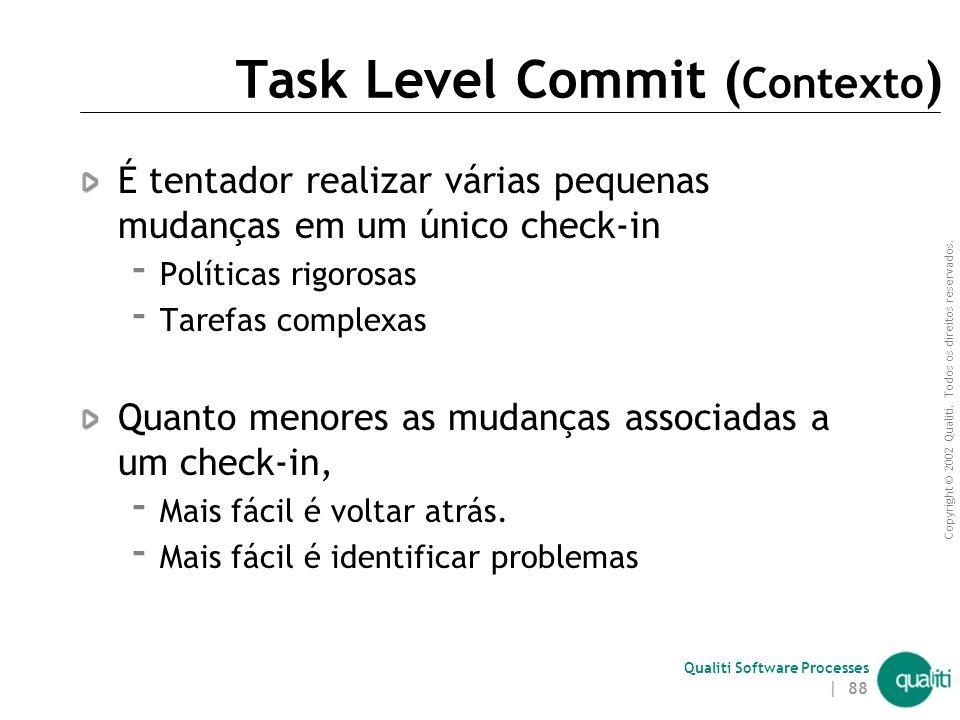 Task Level Commit (Contexto)