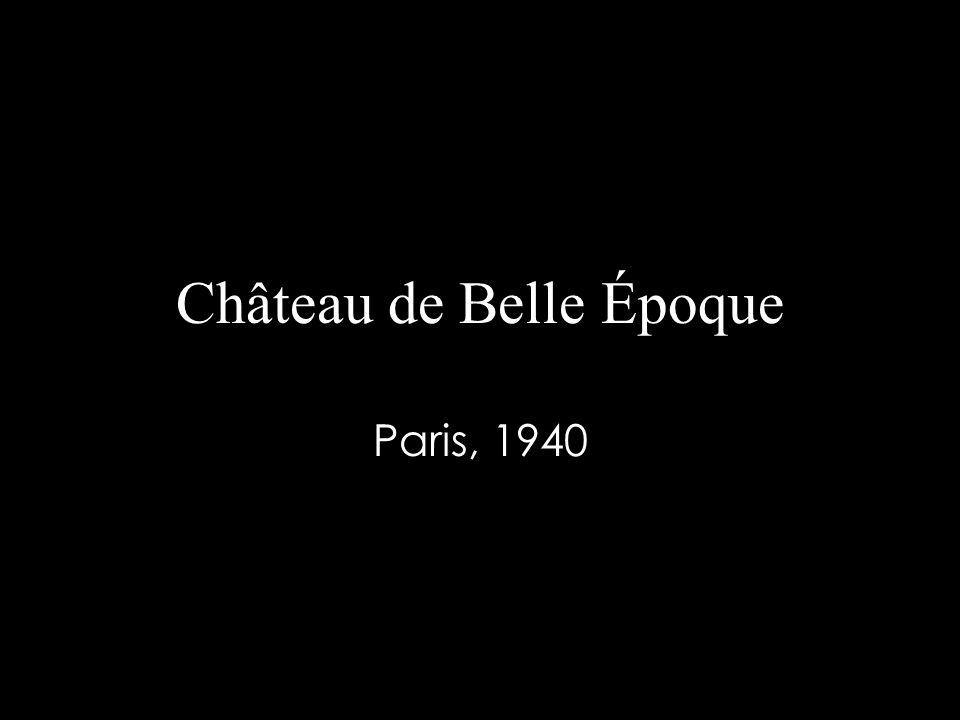 Château de Belle Époque