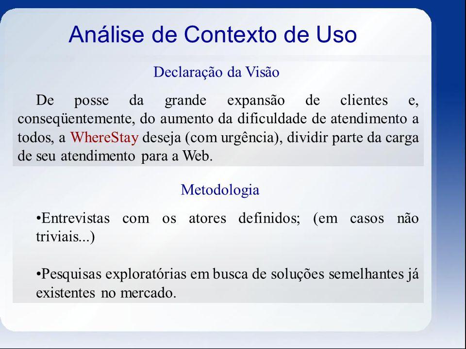 Análise de Contexto de Uso