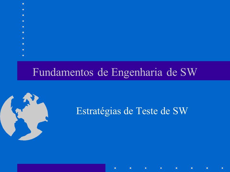 Fundamentos de Engenharia de SW