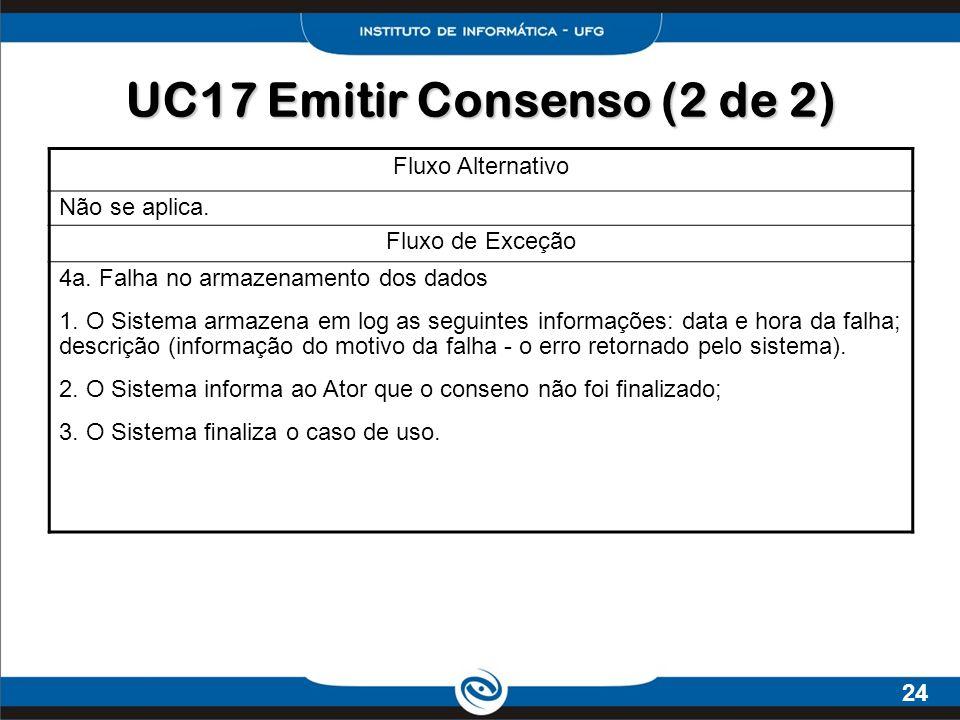 UC17 Emitir Consenso (2 de 2)