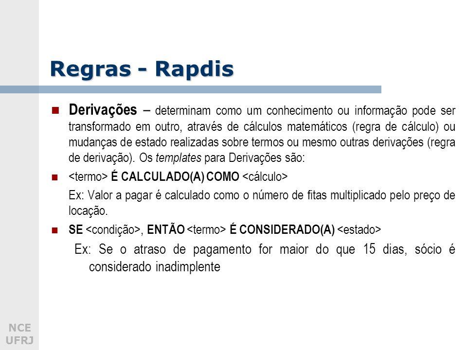 Regras - Rapdis