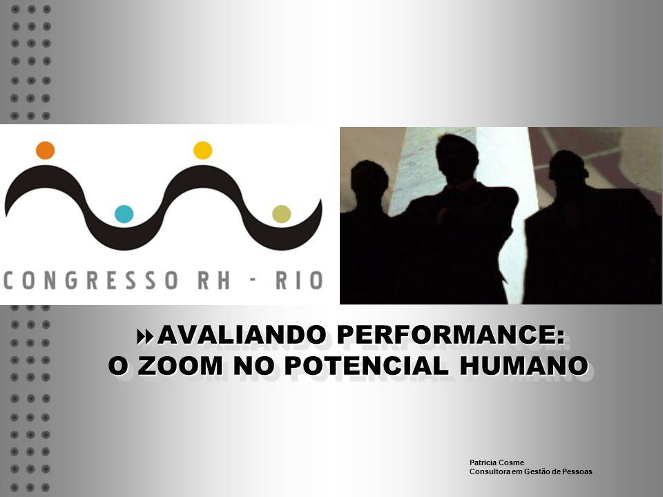 AVALIANDO PERFORMANCE: O ZOOM NO POTENCIAL HUMANO
