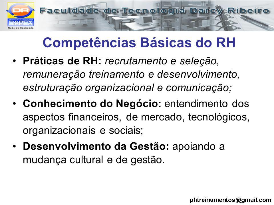 Competências Básicas do RH