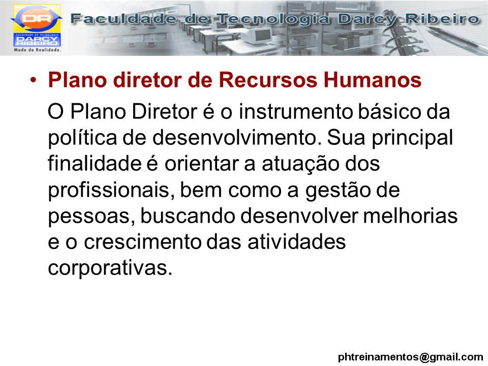 Plano diretor de Recursos Humanos