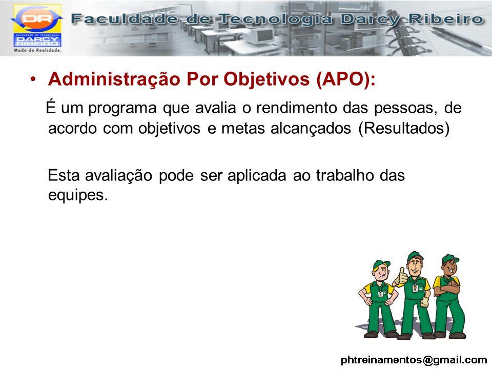 Administração Por Objetivos (APO):