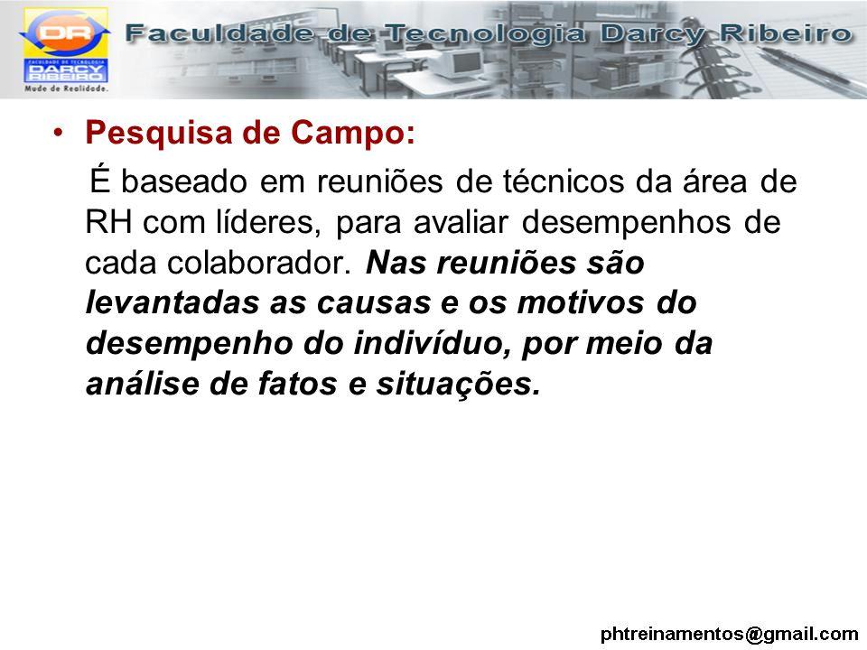 Pesquisa de Campo:
