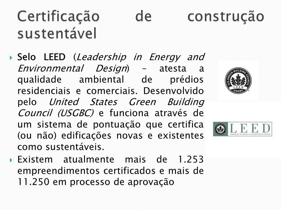 Certificação de construção sustentável
