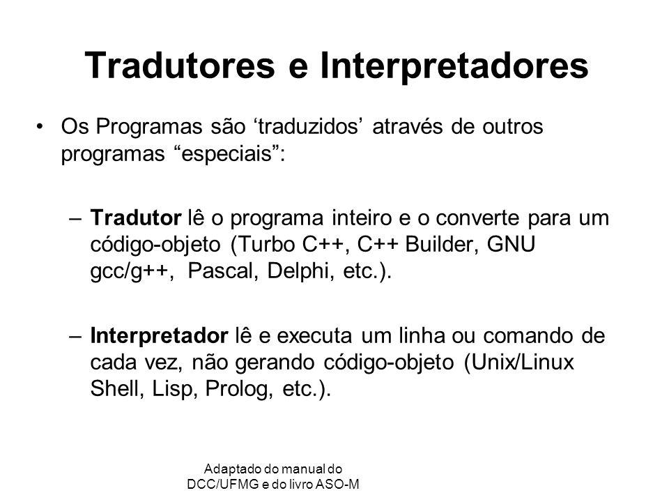 Tradutores e Interpretadores
