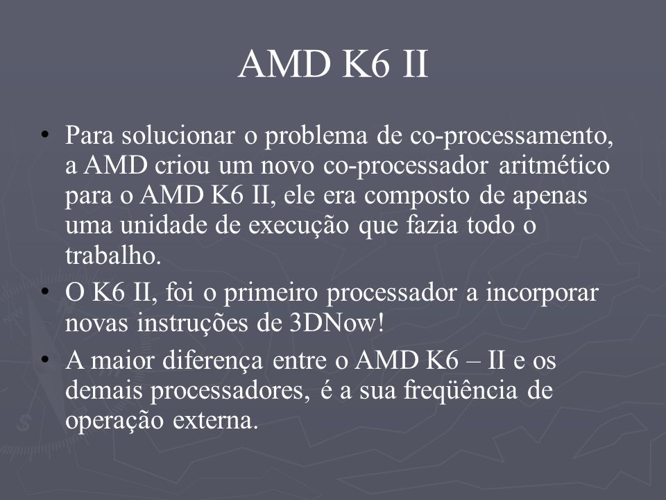 AMD K6 II