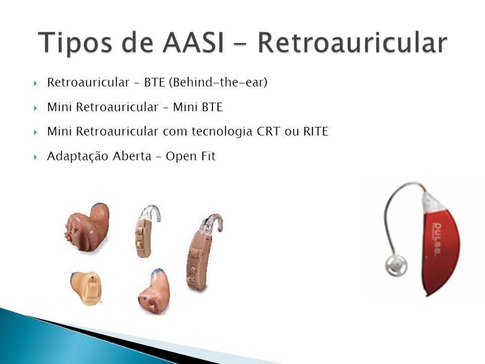 Tipos de AASI - Retroauricular