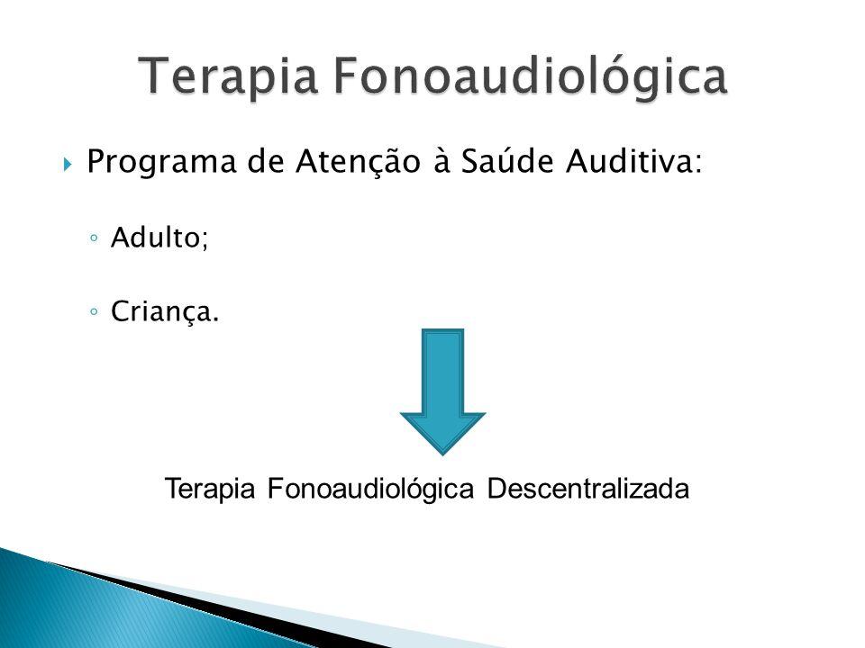Terapia Fonoaudiológica