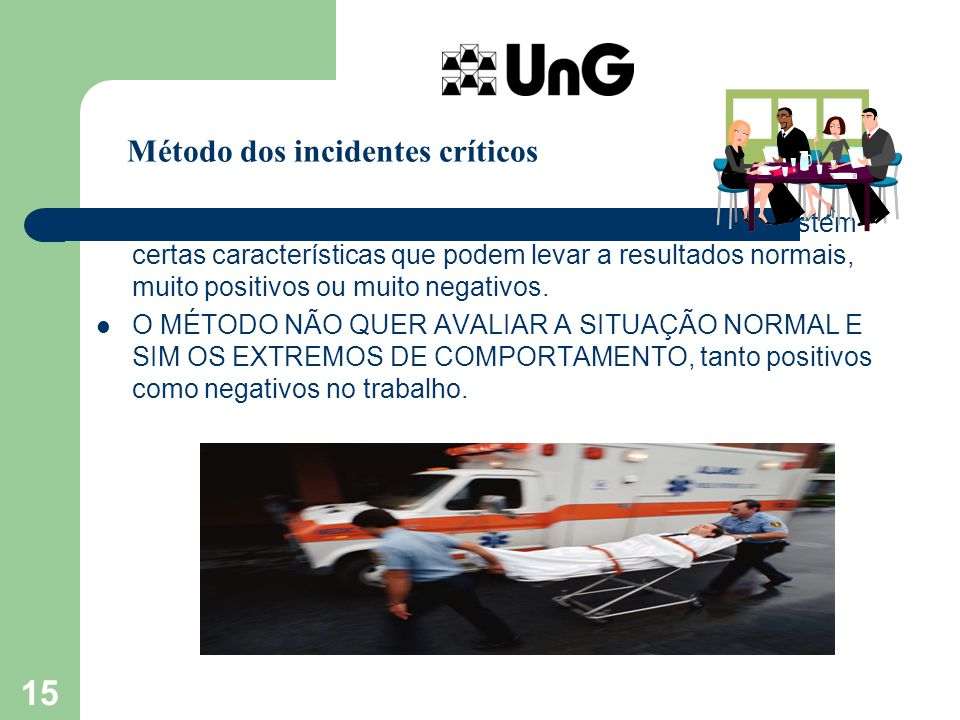 Método dos incidentes críticos