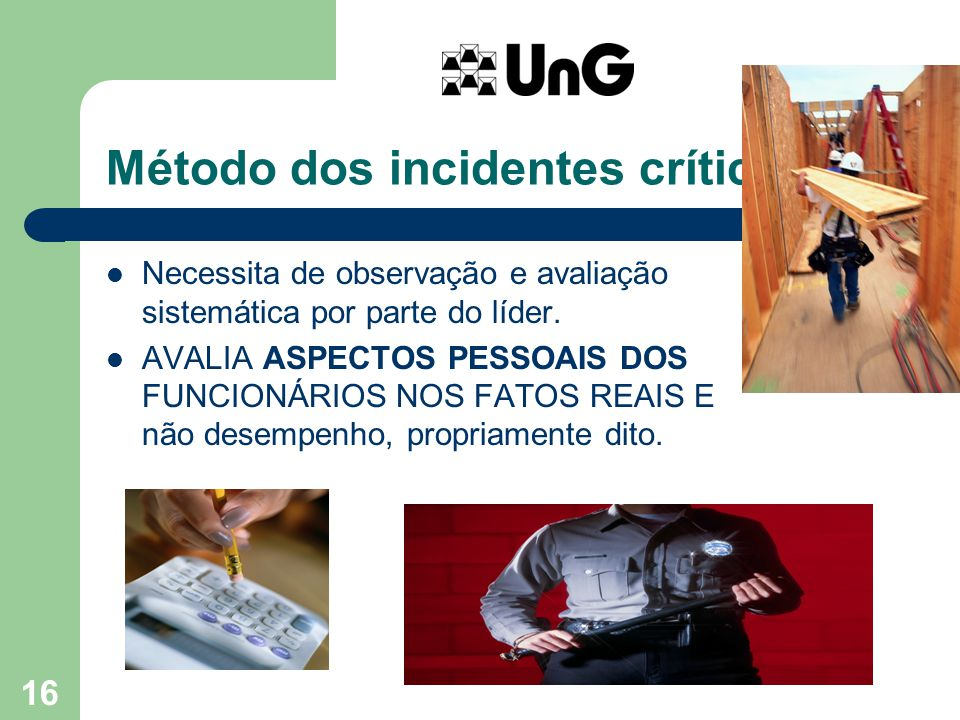 Método dos incidentes críticos...