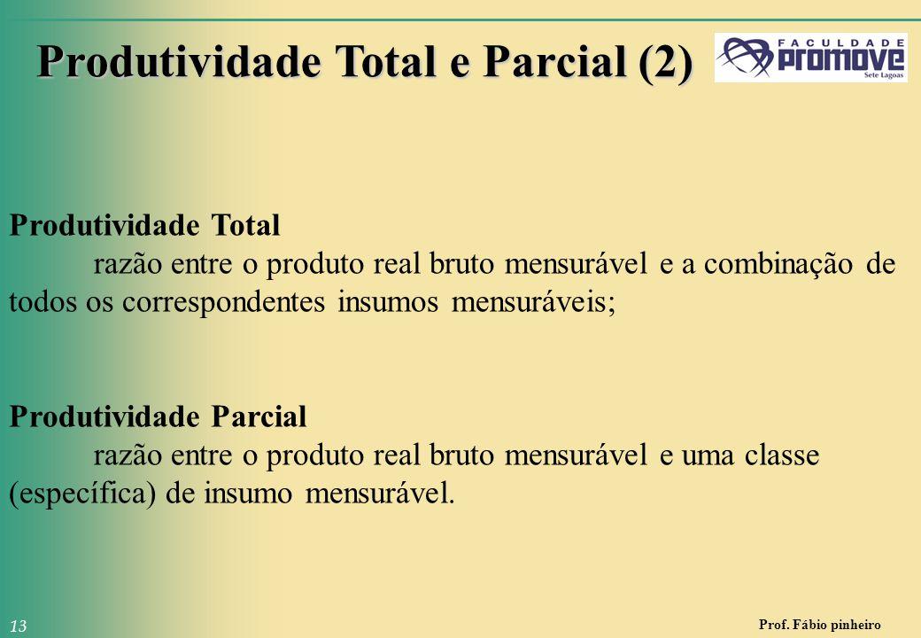 Produtividade Total e Parcial (2)