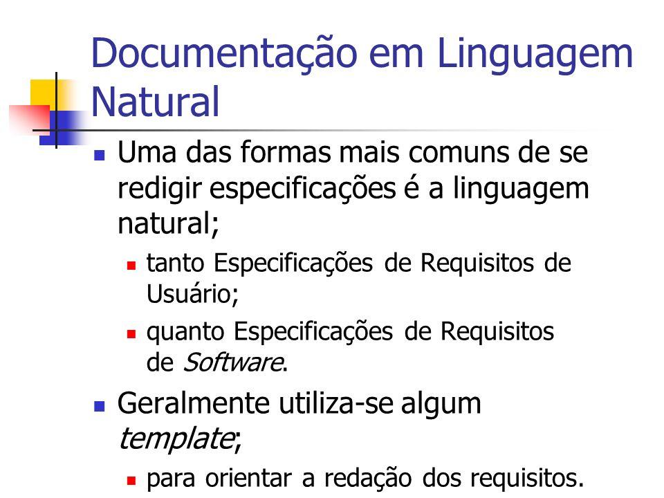 Documentação em Linguagem Natural