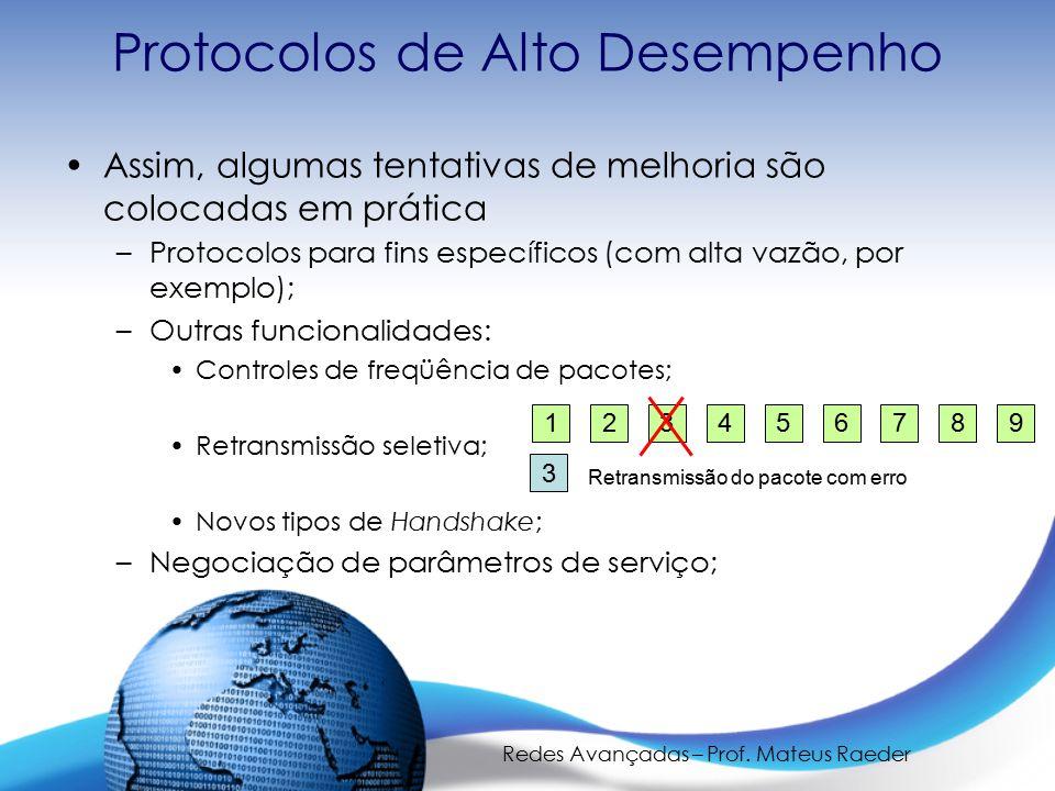 Protocolos de Alto Desempenho