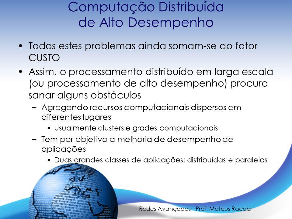 Computação Distribuída de Alto Desempenho