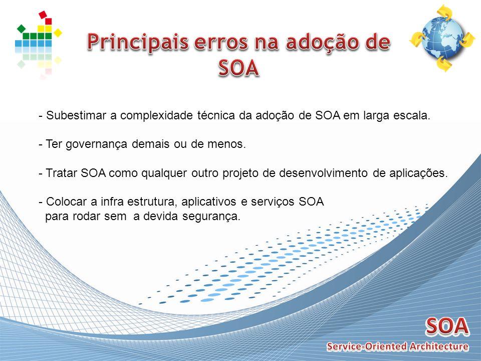 Principais erros na adoção de SOA