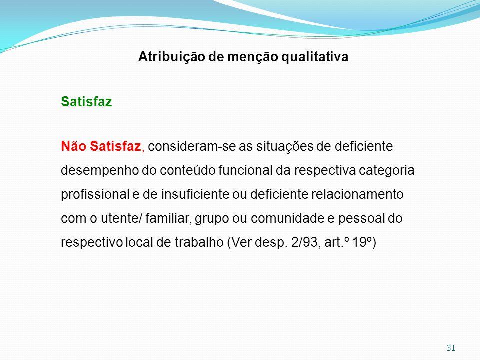 Atribuição de menção qualitativa