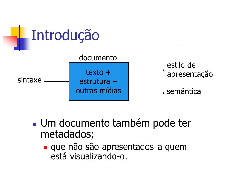 texto + estrutura + outras mídias