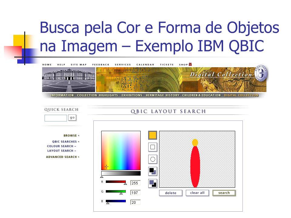 Busca pela Cor e Forma de Objetos na Imagem – Exemplo IBM QBIC