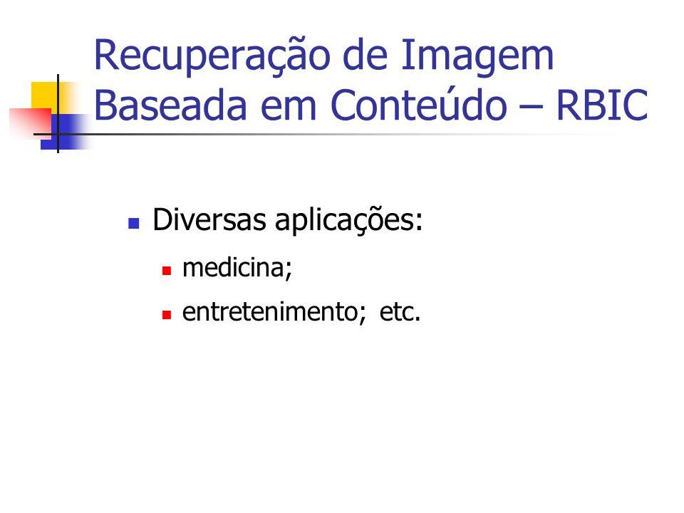 Recuperação de Imagem Baseada em Conteúdo – RBIC