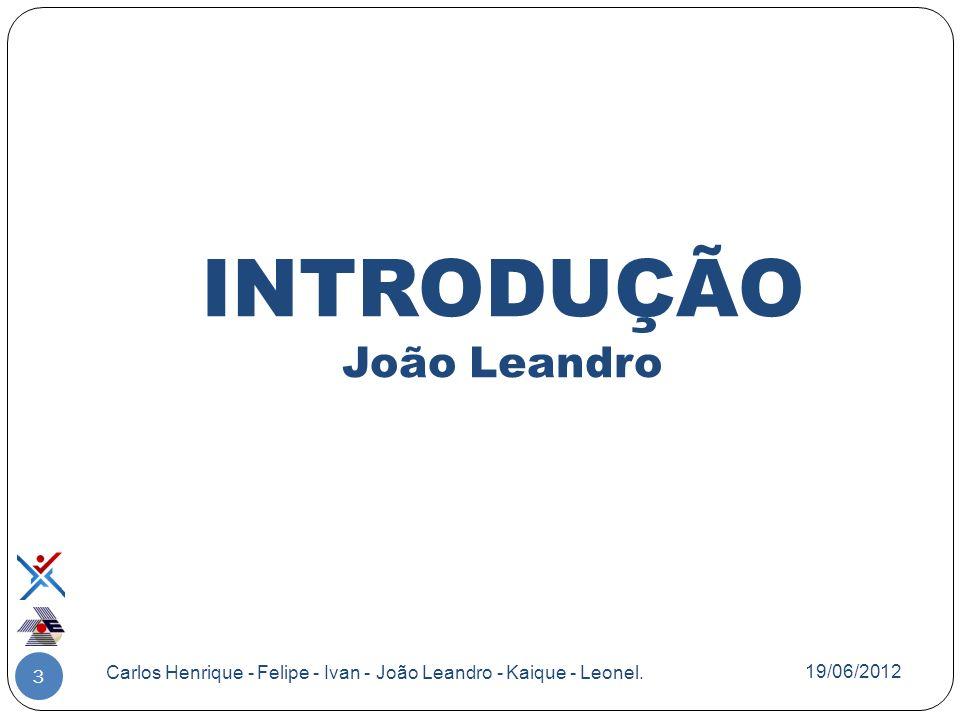 INTRODUÇÃO João Leandro