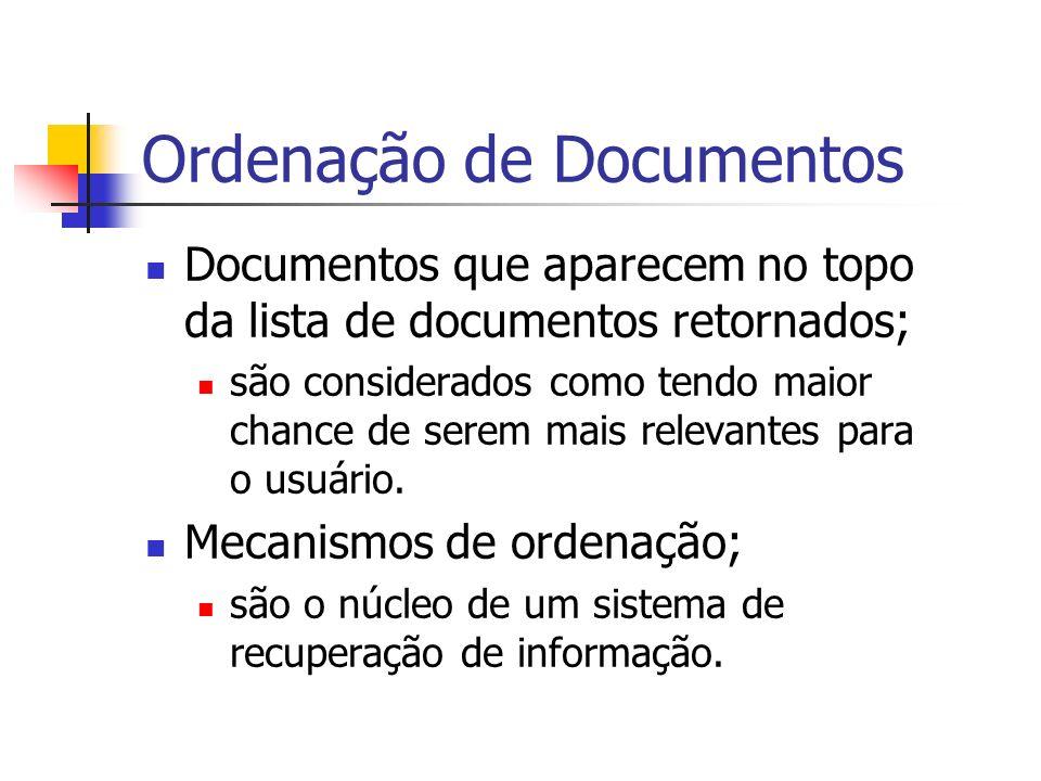 Ordenação de Documentos