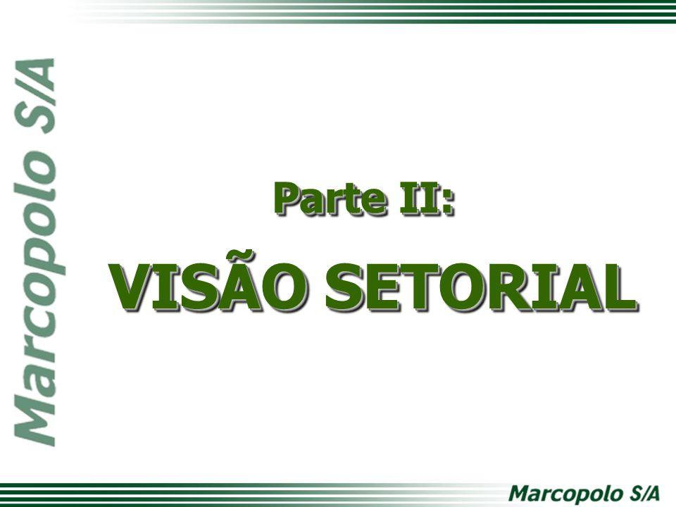Parte II: VISÃO SETORIAL
