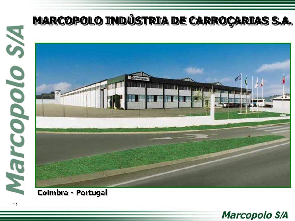MARCOPOLO INDÚSTRIA DE CARROÇARIAS S.A.