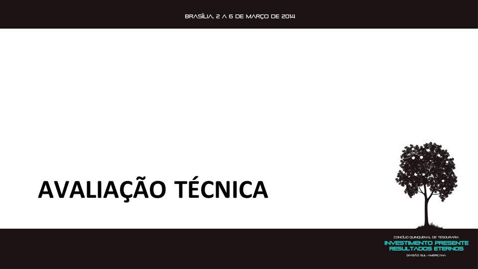 AVALIAÇÃO TÉCNICA