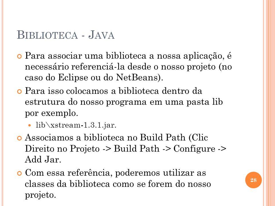 Biblioteca - Java