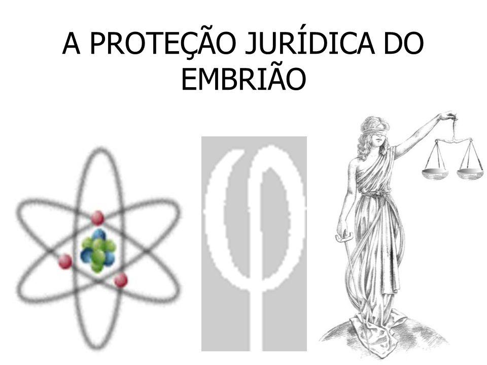 A PROTEÇÃO JURÍDICA DO EMBRIÃO