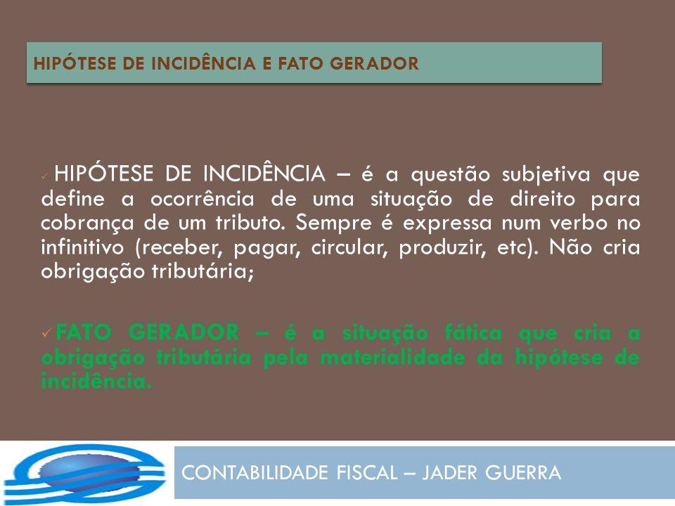 CONTABILIDADE FISCAL – JADER GUERRA