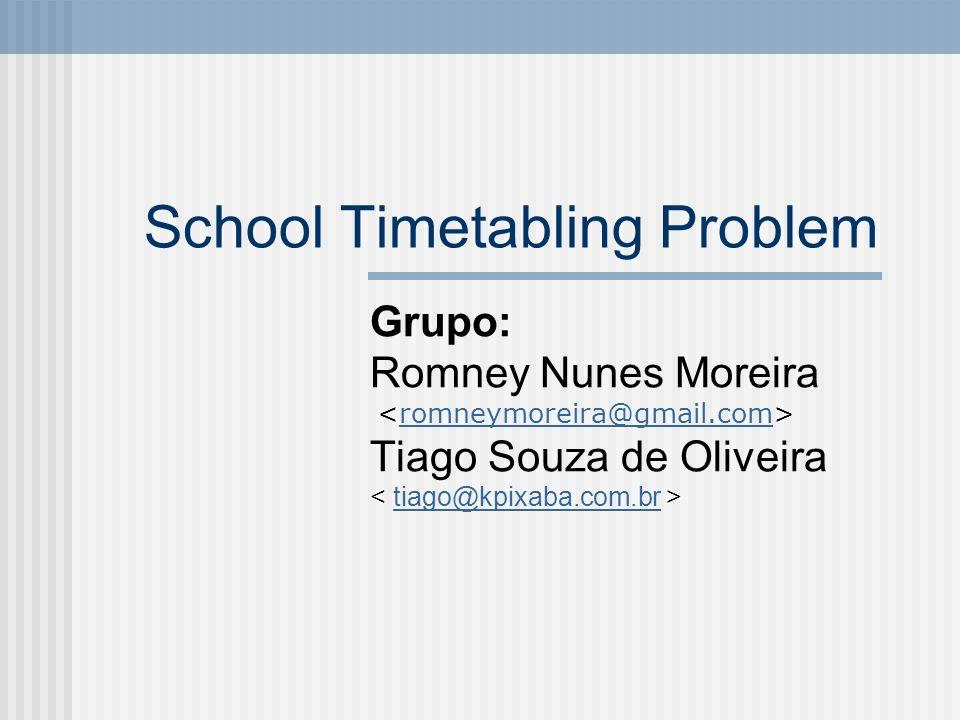 School Timetabling Problem