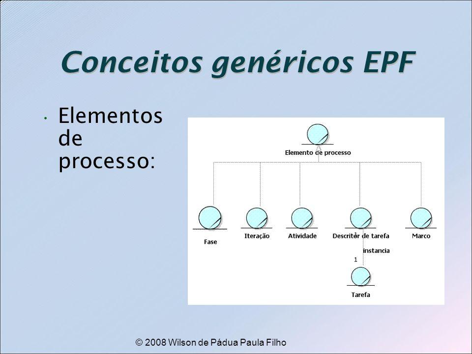 Conceitos genéricos EPF