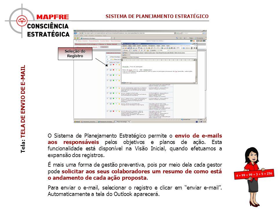 Tela: TELA DE ENVIO DE E-MAIL