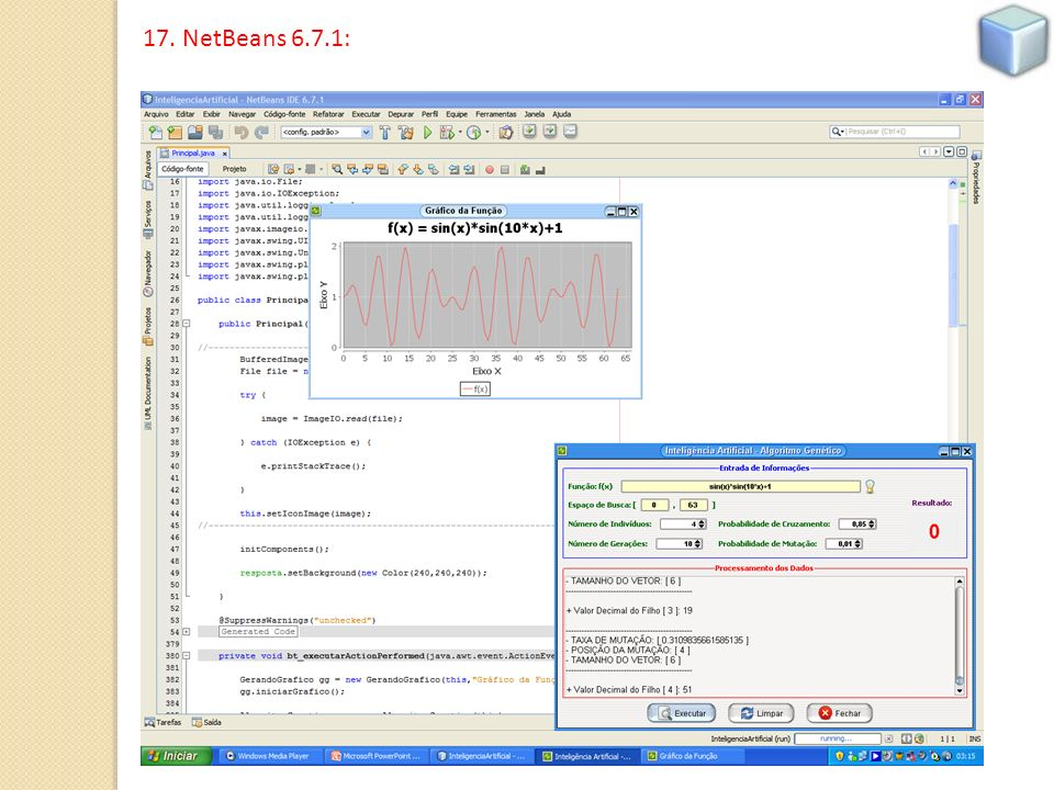 17. NetBeans 6.7.1: