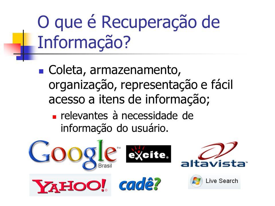 O que é Recuperação de Informação