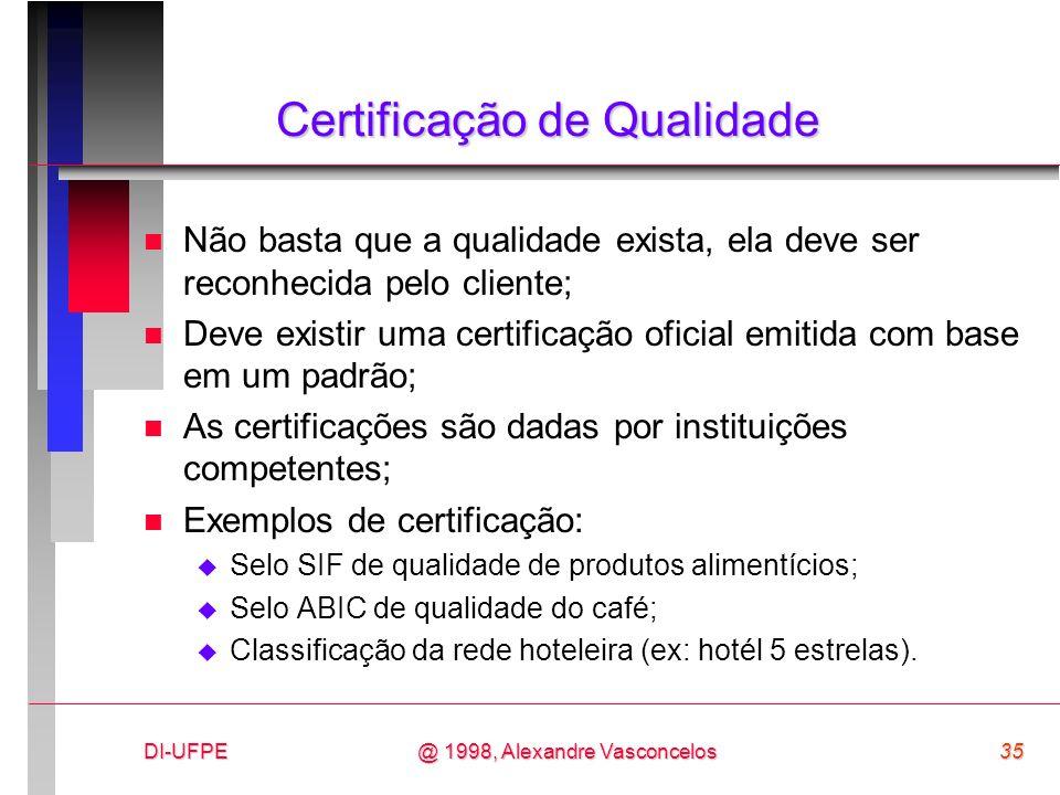 Certificação de Qualidade