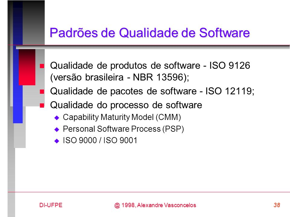 Padrões de Qualidade de Software