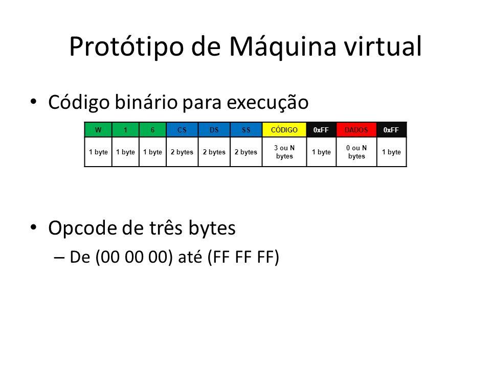 Protótipo de Máquina virtual