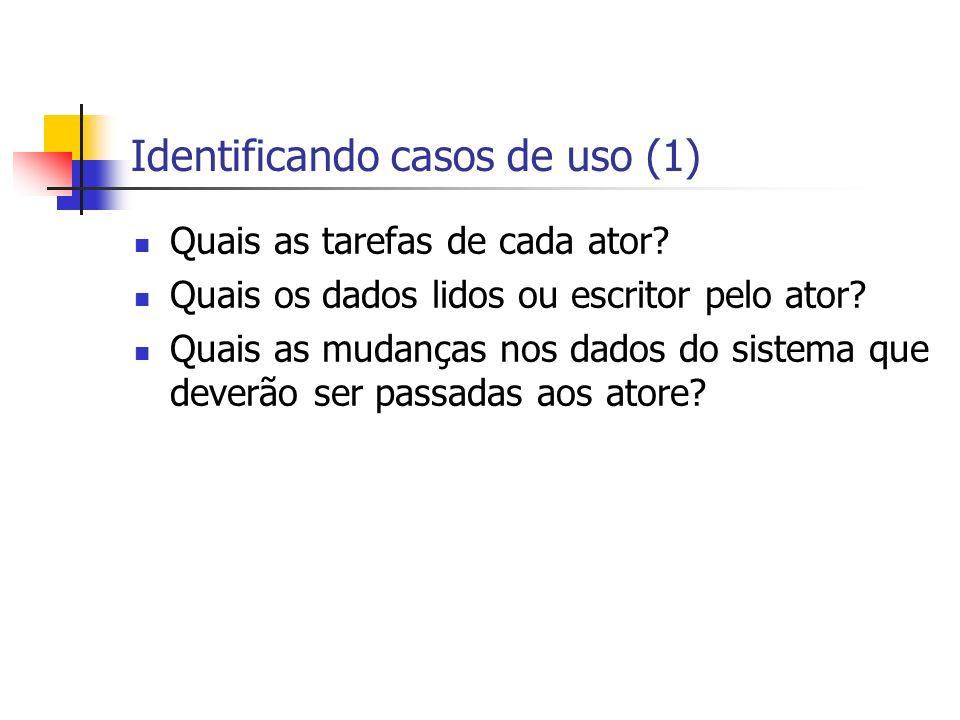 Identificando casos de uso (1)